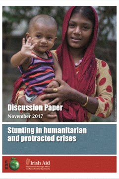 Stunting in protracted crises: discussion paper