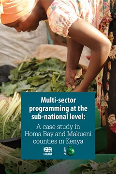 Multi-sector programmes at the sub-national level: A case study in Homa Bay and Makueni counties in Kenya