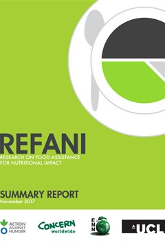 REFANI summary and synthesis reports