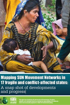 Mapping SUN Movement Networks in 17 fragile and conflict-affected states: A snap shot of developments and progress