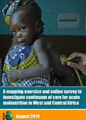 A mapping exercise and online survey to investigate continuum of care for acute malnutrition in West and Central Africa