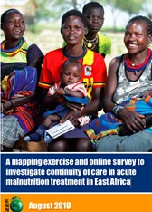 A mapping exercise and online survey to investigate continuity of care in acute malnutrition treatment in East Africa