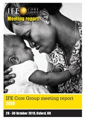 IFE Core Group meeting report 2019