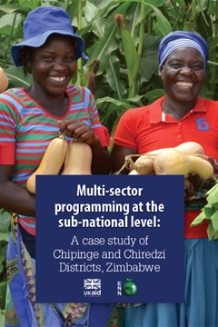 Multi-sector programming at the sub-national level: A case study of Chipinge and Chiredzi Districts, Zimbabwe