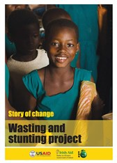 Story of change: Wasting and stunting project