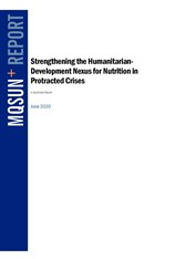 Strengthening the Humanitarian Development Nexus for Nutrition in Protracted Crises