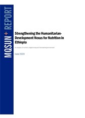 Strengthening the Humanitarian Development Nexus for Nutrition in Ethiopia