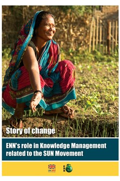 Story of change: ENN's role in Knowledge Management related to the SUN Movement