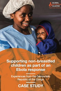 Supporting non-breastfed children as part of an Ebola response - Experiences from the Democratic Republic of the Congo