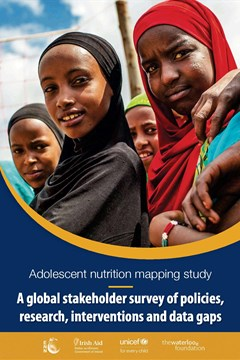 Adolescent nutrition mapping study: A global stakeholder survey of policies, research, interventions and data gaps