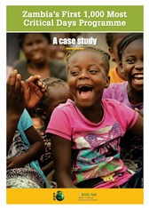 Zambia's First 1,000 Most Critical Days Programme: a case study
