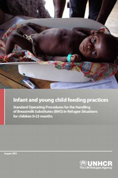 Infant and Young Child Feeding Practices: Standard Operating Procedures for the Handling of Breastmilk Substitutes (BMS) in Refugee Situations for Children 0 - 23 months