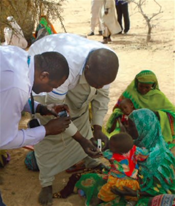 Mobile clinic in Chad