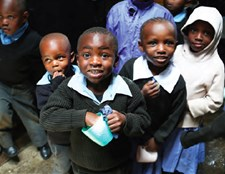 School lunches are fortified with 15 essential vitamins and minerals in Nairobi, Kenya