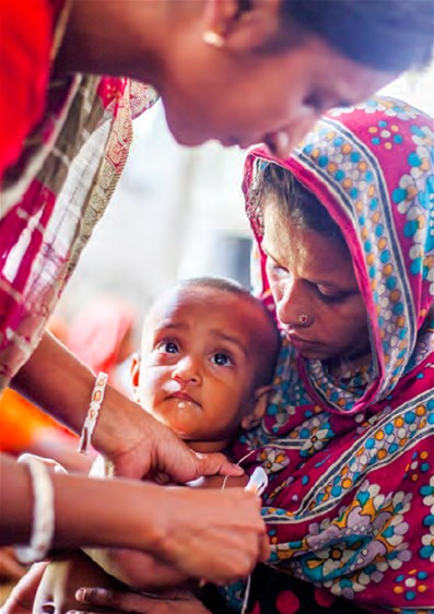Assessment of the nutritional condition of young children, Bangladesh, May 2015