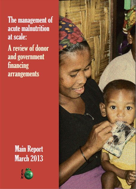 Management of Acute Malnutrition at Scale Front Cover