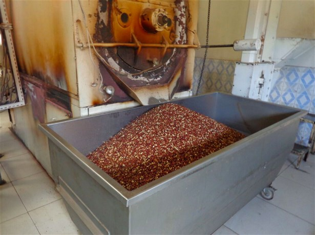 Processing peanuts to make fortified peanut-based pastes