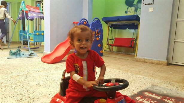 Children enjoy play during Early Child Development (ECD) activities in the stabilisation centres