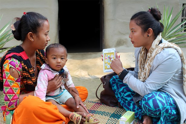 Counselling on family planning is part of a holistic approach to maternal health and nutrition