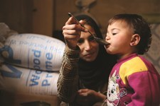WFP beneficiaries in Syria
