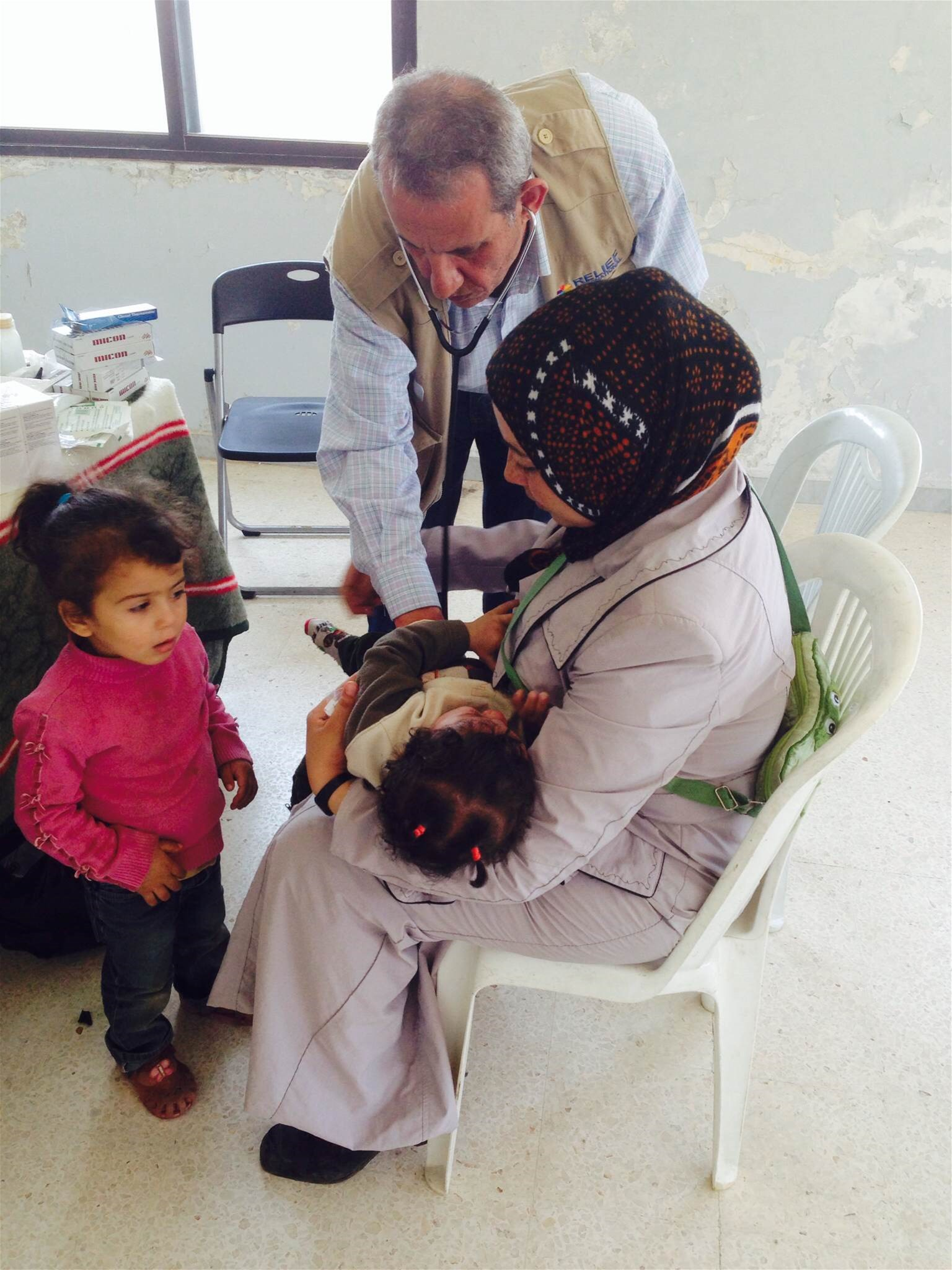 Medical screening in Beirut programme