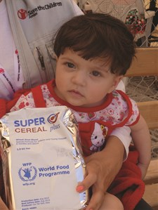 WFP complementary food assistance in Zaatari Camp