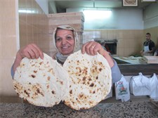 This family bakery began baking Arabic flat bread to cater to the taste of the Syrian refugees, and they now also deliver to the camps.