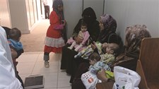 Infants and young children attending OTP in Zaatari camp